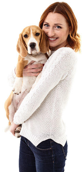 The benefits of insuring your pet with us.
